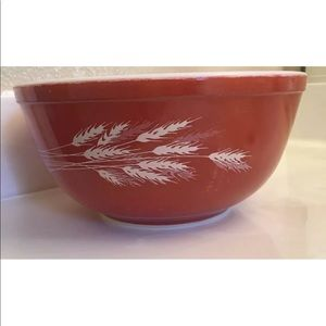Vintage Pyrex Autumn Harvest 403 Bowl